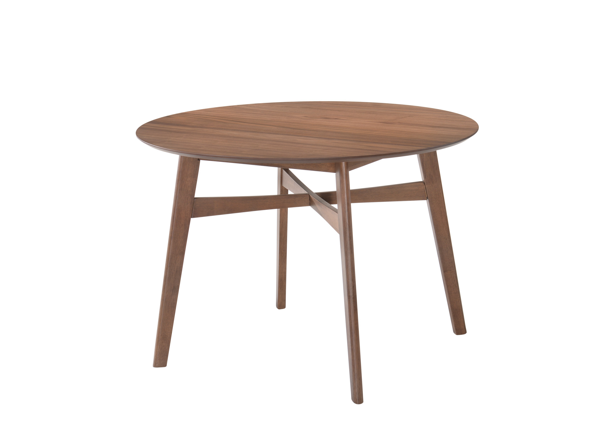"Emerald Home Simplicity Round Dining Table 42"" Walnut D550-15 by Emerald Home Furnishings, LLC"