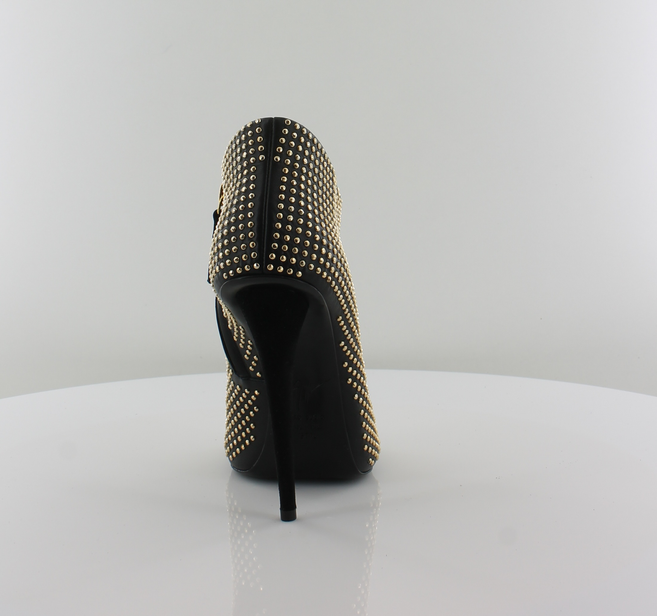 Giuseppe Zanotti Jeti Women's Heels Nero Size 7.5 M