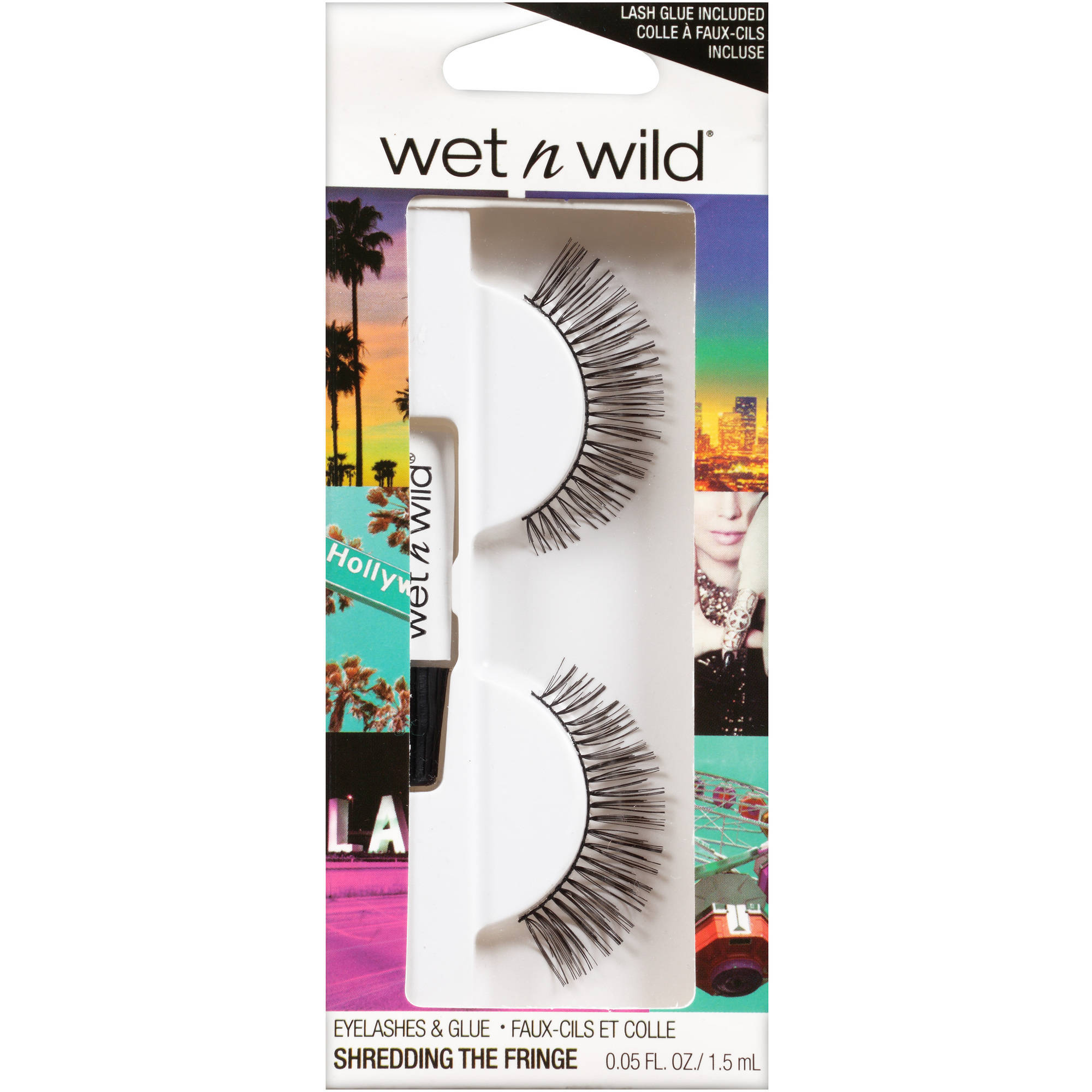 Wet n Wild Eyelashes & Glue, C971A Shredding the Fringe, 0.05 fl oz