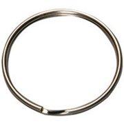 KB103 Split Key Ring, 3/4 in, Tempered Steel