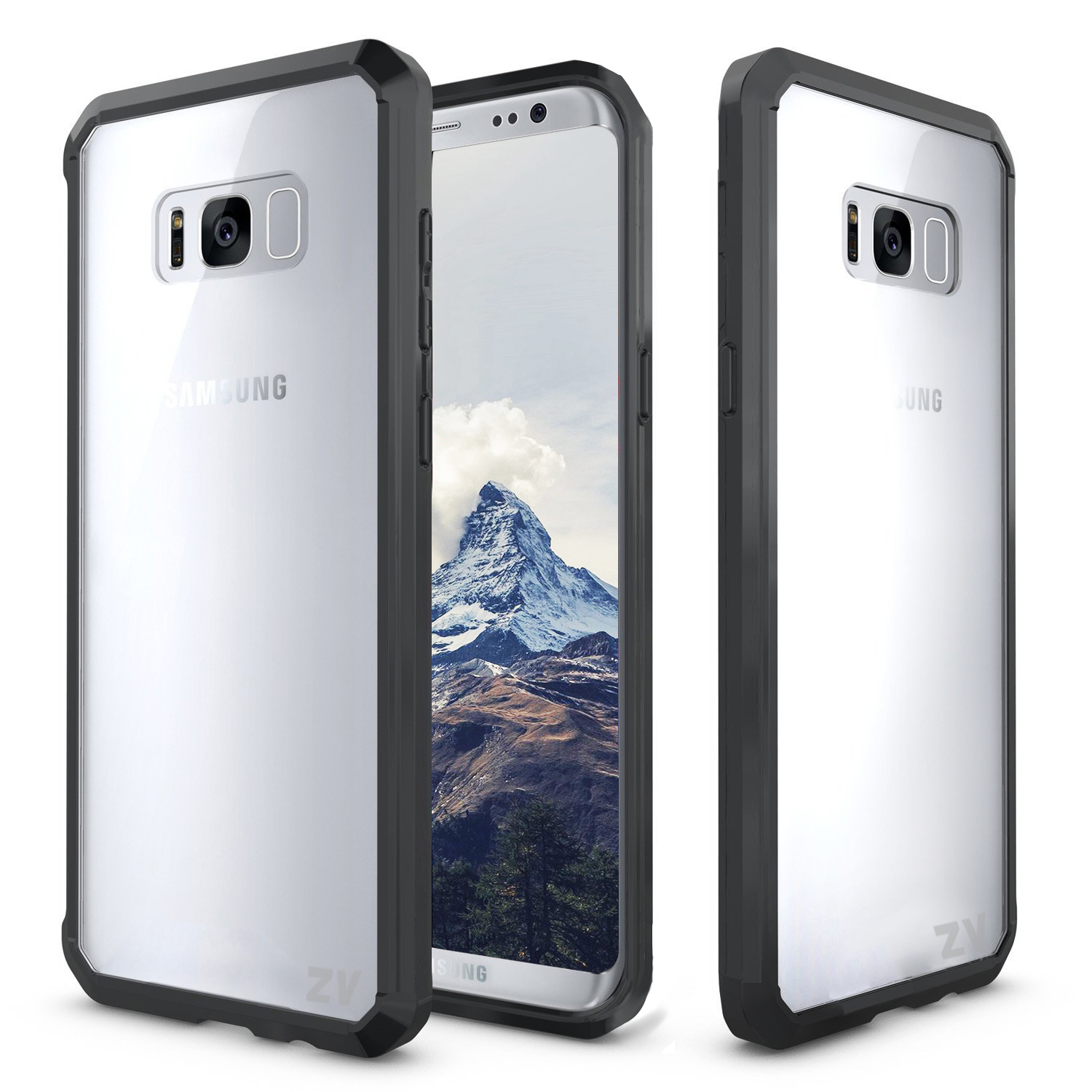 Samsung Galaxy S8 / S8 Plus Case, PC+TPU Cover- Slimfit w/ Heavy Duty Protection
