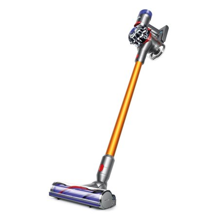 Dyson V8 Absolute Cordless HEPA Vacuum Cleaner + Fluffy Soft Roller and Direct Drive Cleaner Head + Wand Set +