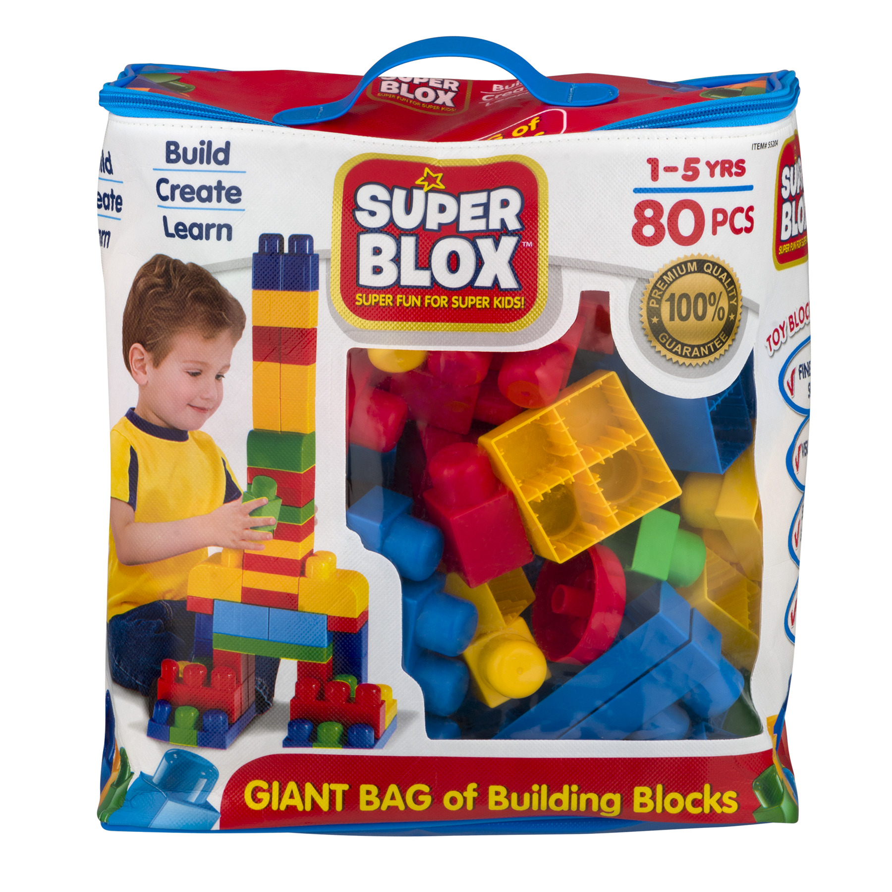 Cra-Z-Art Super Blox, 80.0 PIECE(S) by LaRose Industries, LLC