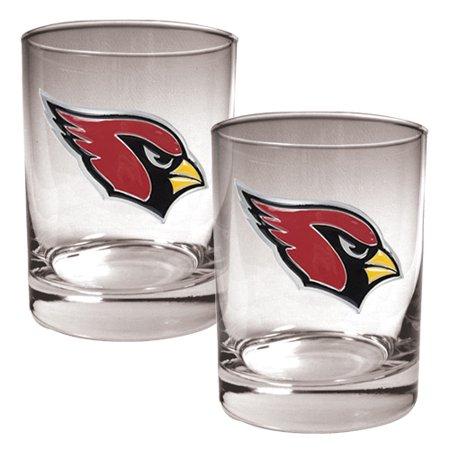 Arizona Cardinals 14oz. Rocks Glass Set - No Size