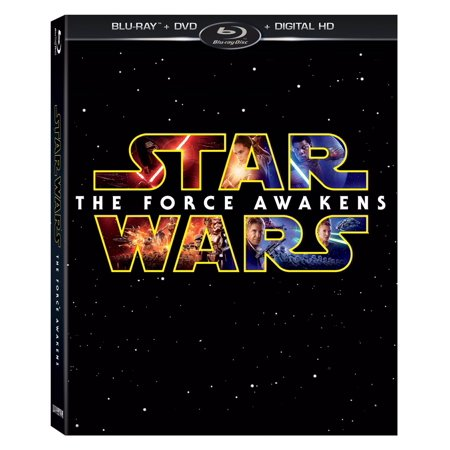 Star Wars: The Force Awakens (Blu-ray + DVD + Digital