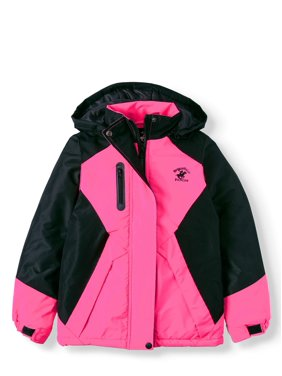 Beverly Hills Polo Club Polar Fleece Lined Ski Jacket (Little Girls & Big Girls)