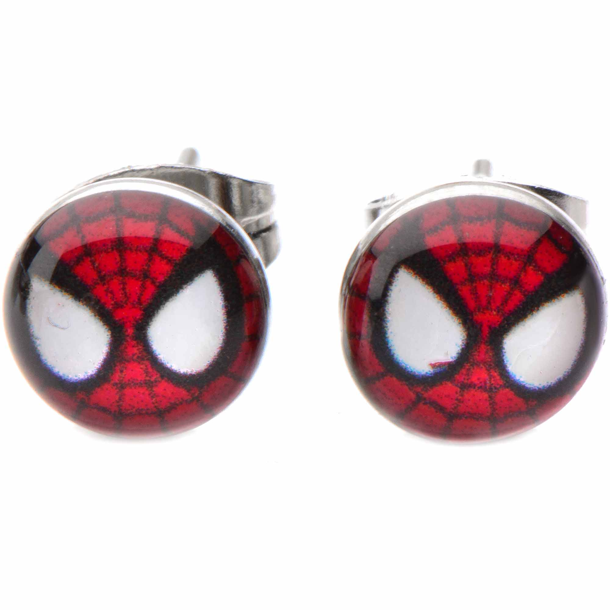 Officially Licensed Marvel Body Jewelry Surgical Steel Stud earrings with Spider-Man Design