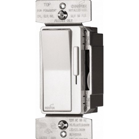 Eaton DAL06P-C5 Al Series Single Pole/3-Way Decorator Dimmer Switch, Color Kit, Multi (Inca Dimmer)