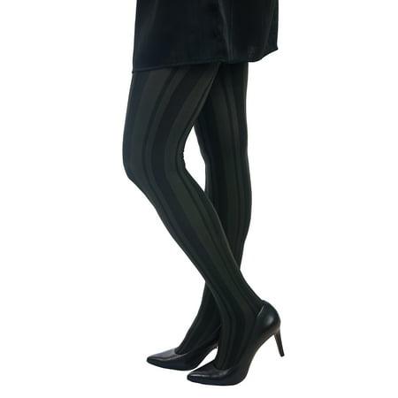Lupo Women's Stripes Pantyhose - Striped Pantyhose