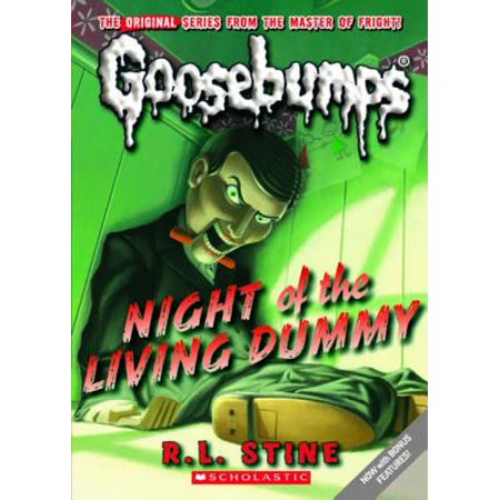 Classic Goosebumps #1: Night of the Living Dummy - eBook (Ventriloquist Dummies Halloween)