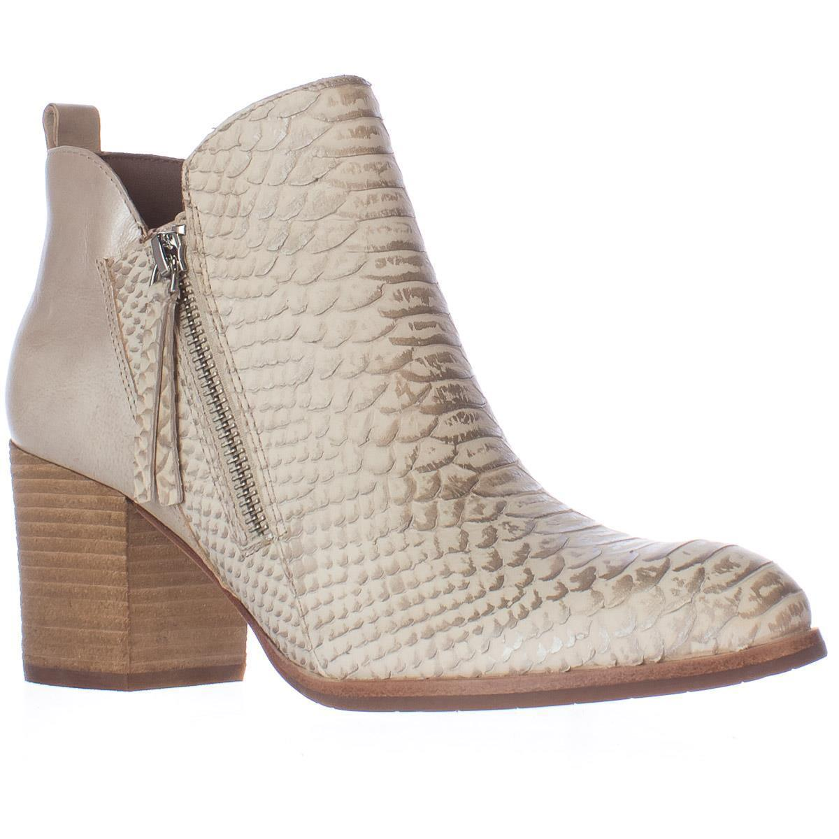 Womens Donald J Pliner Edyn Side Zip Ankle Boots, Ivory by Donald J Pliner
