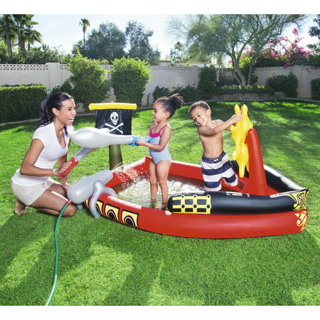 H2OGO! Inflatable Pirate Play Pool Center