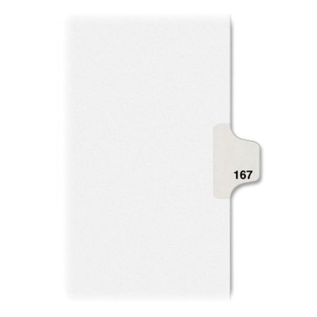 Avery Individual Legal Tab Dividers (Avery Individual Side Tab Legal Exhibit Dividers 82383 )