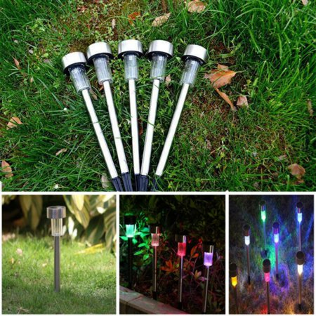 ENJOY 3/5/10 Pcs LED Solar Light For Garden Decoration Outdoor Pathway Waterproof (Solar System Decorations)