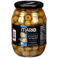 (2 pack) Mario® Pimiento Stuffed Manzanilla Spanish Olives 21 oz. Jar