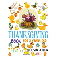 Autumn: Thanksgiving Book for 3 Years Old: Coloring Books: Activity Books: Thanksgiving Books-Paperback (Paperback)
