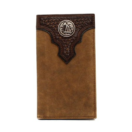 Ariat Ariat Western Wallet Mens Rodeo Overlay Rig Concho