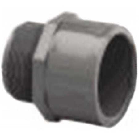 PVC80MA2 Schedule 80 PVC Male Adapter, 2 Inch