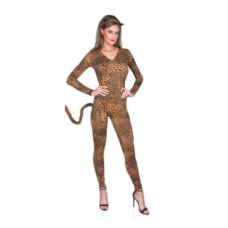 Women's Wild Leopard Bodysuit - Leopard Bodysuit