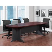 Ameriwood Home Pursuit Large Conference Table, Cherry