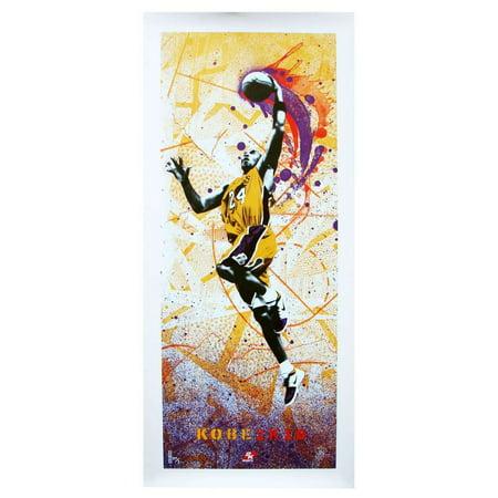 NBA 2K10 Kobe Bryant LA Lakers Poster Kobe Bryant 2008 Mvp Basketball