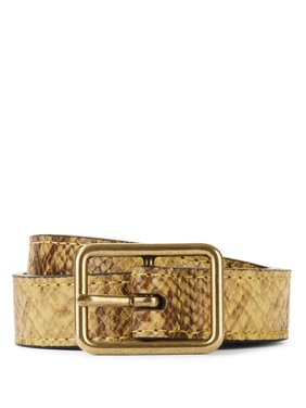 d32fcd4ef Product Image Tignanello Women s Snake Belt with Rectangular Buckle