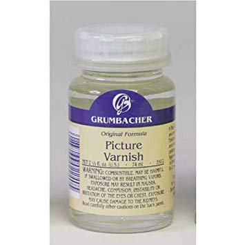 Grumbacher - Picture Varnish - Picture Varnish (Canadian Label)