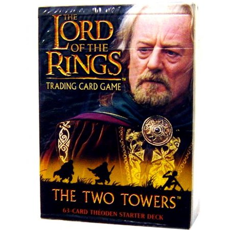 The Lord of the Rings The Two Towers The Two Towers Starter Deck Theoden 2 Player Starter Deck