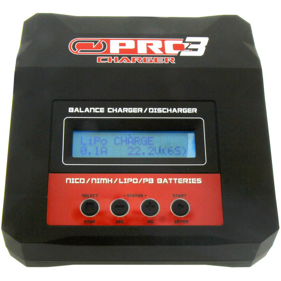 Venom Pro Charger 3 RC LiPO and NiMH Battery Balance AC/DC Powered Charger