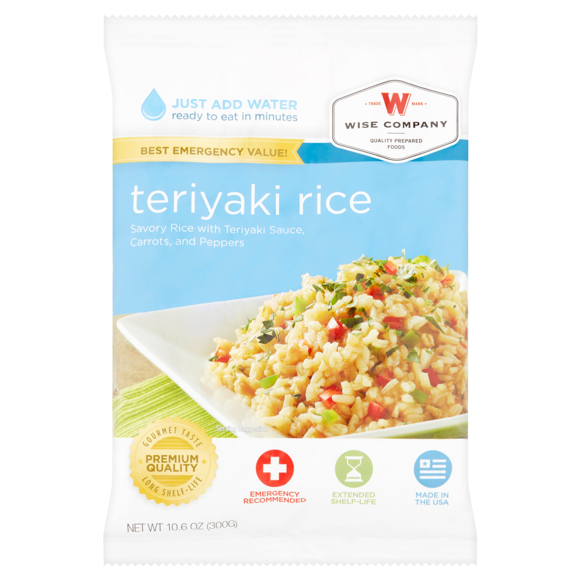 Wise Company Teriyaki Rice, 10.6 oz