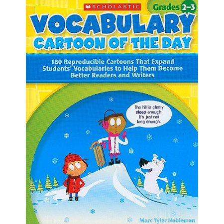 Science Vocabulary Readers - Vocabulary Cartoon of the Day, Grades 2-3 : 180 Reproducible Cartoons That Expand Students' Vocabularies to Help Them Become Better Readers and Writers
