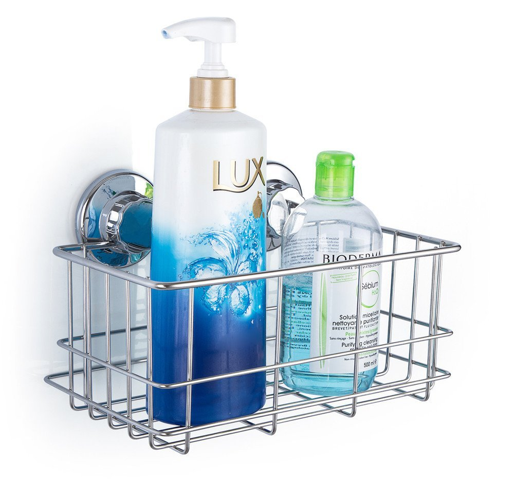 IPEGTOP Bathroom Shower Caddy Shelf Suction cup No Rust Stainless ...