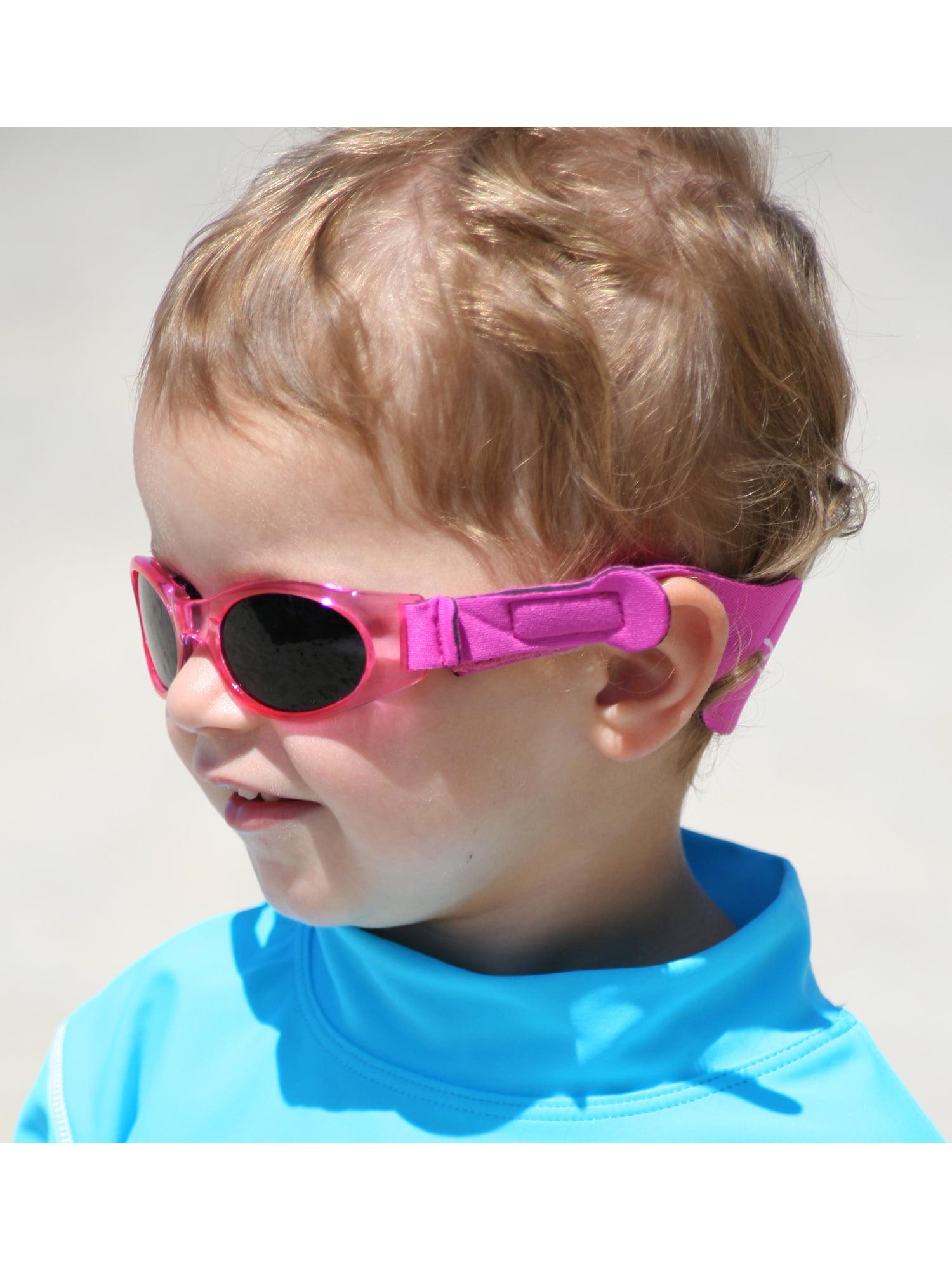 5c6dd8a9aa97 Tuga - Tuga Polarized Baby   Toddler UV 400 Sunglasses w  2 Straps   Case