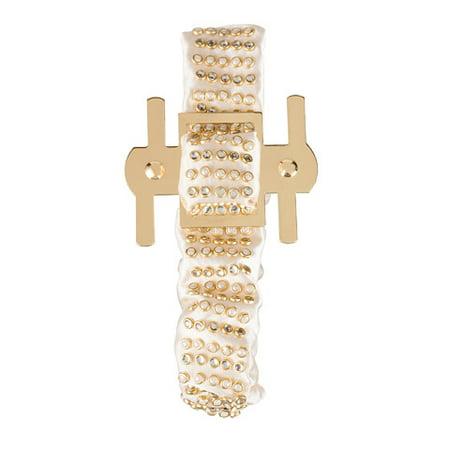 Leather Corsage - Dt Wristlet Corsage Gold 1Pc
