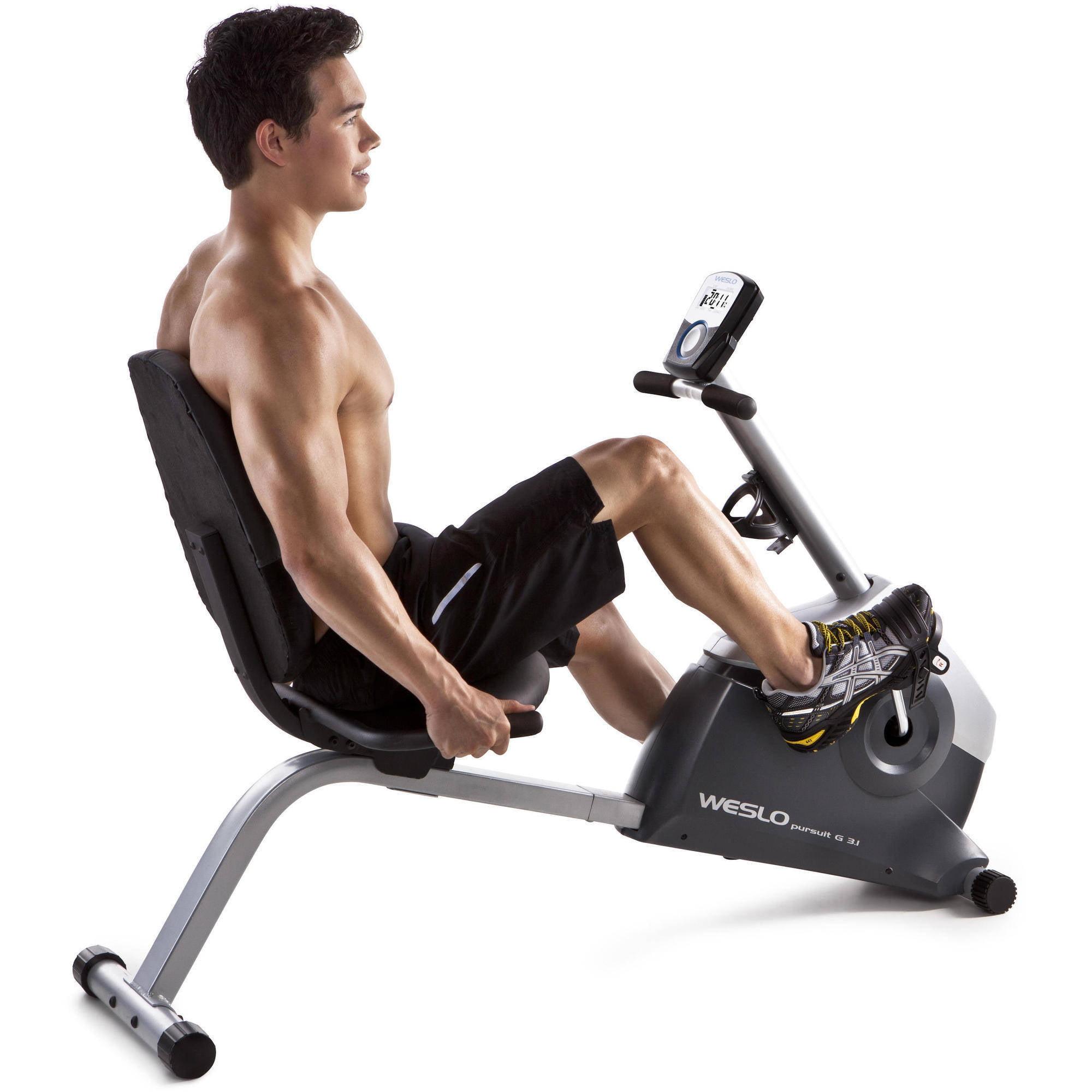 Weslo Pursuit G 3 1 Recumbent Exercise Bike