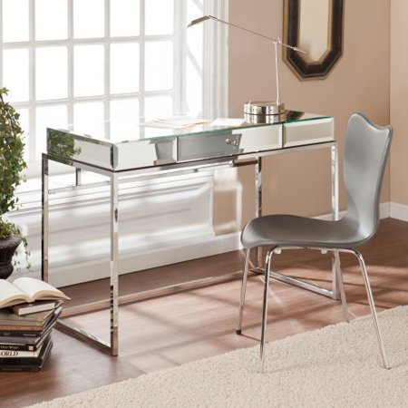 Southern Enterprises Victoria Mirrored Desk With Drawer