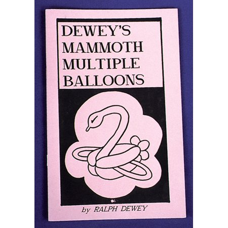 DEWEYS MAMMOTH MULT BALLOON (Deweys Celebrity Balloons)