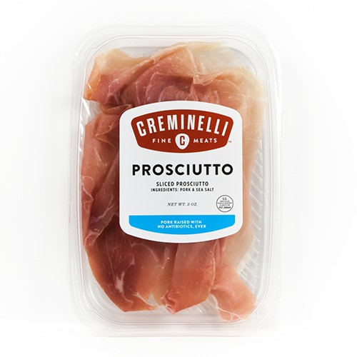 Artisan Sliced Prosciutto by Creminelli 2 oz by CREMINELLI FINE MEATS LLC
