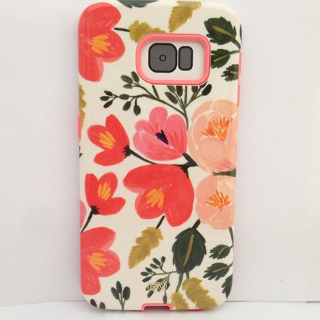 100% authentic 8231c 3d6a7 Sonix Lenntek Inlay Case Samsung Galaxy S6 Edge- Botanical Rose ...