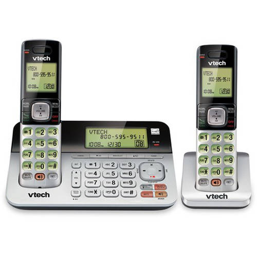 VTech CS6859-2 2-Handset Cordless Answering System with Caller ID/Call Waiting