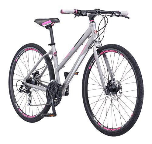 Schwinn Phocus 1500 Bicycle-Color:Matte Grey,Size:700C,Style:Women's Flat Bar Road