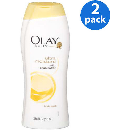 Olay Body Wash With Shea Butter Ultra Moisture, 23.6 fl oz (Pack of 2)