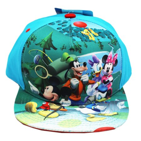 Disney - Disney Characters Camping Light Blue Colored ...