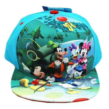 Disney - Disney Characters Camping Light Blue Colored ...  Disney - Disney...