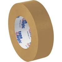 T9455300 Brown 1 Inch x 60 yds. Kraft Paper Tape Logic #5300 Flatback Paper Tape CASE OF 36