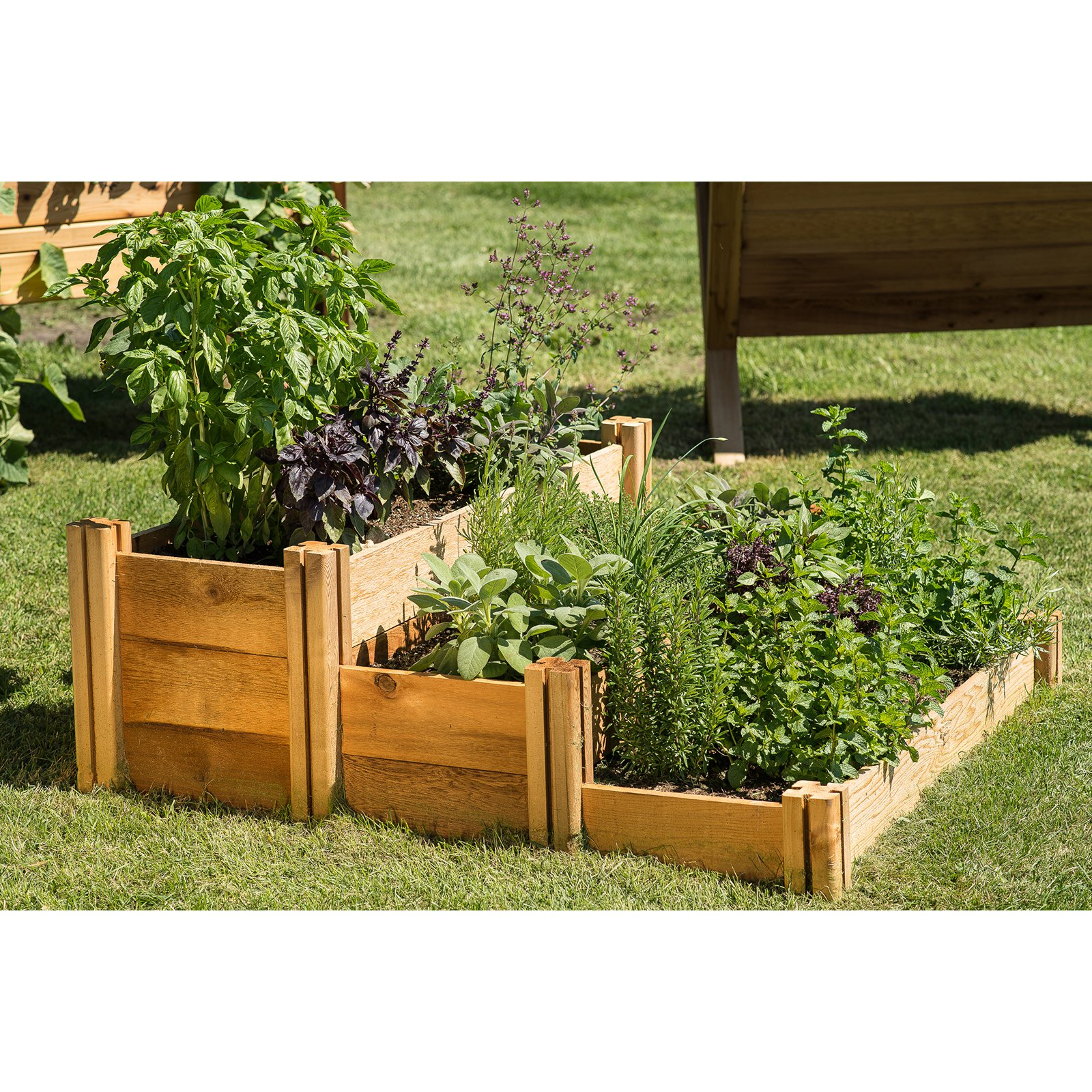 Gronomics Multi-Level Rustic Raised Garden Bed