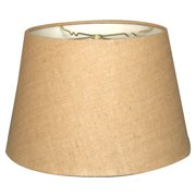 Burlap lamp shades royal designs 16 tapered shallow drum hardback lamp shade burlap mozeypictures Choice Image