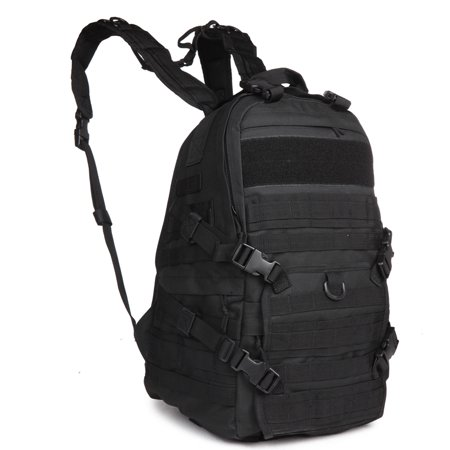13e25a37a9f6 40L Sport Outdoor Military Rucksacks Tactical Molle Patrol Rifle Backpack  Camping Hiking Trekking Travel Gym Bag