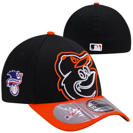 becbce7c9e520c Baltimore Orioles New Era Authentic Collection On-Field Clubhouse 39Thirty  Flex Hat - Black - S/M - Walmart.com
