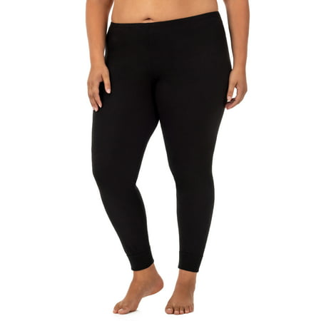 - Fit for Me by Fruit of the Loom Women's Plus Size Waffle Thermal Underwear Pant